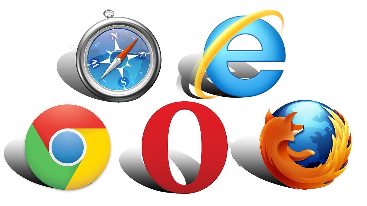 Les principaux navigateurs web